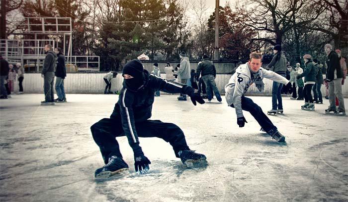 Freestyle Ice Skating