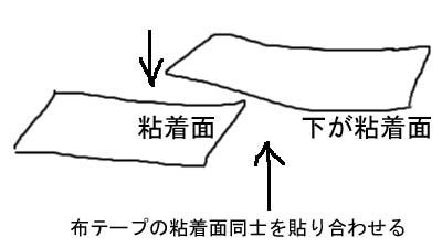 連結テープの作り方