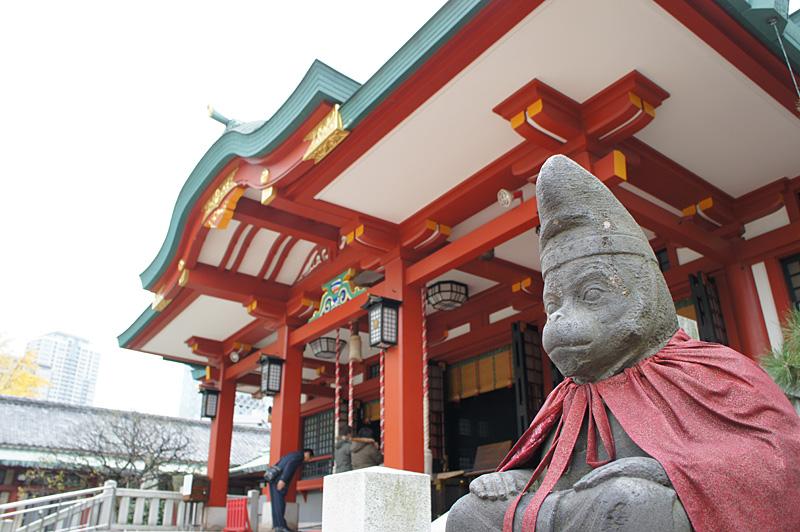 日枝神社 祈り