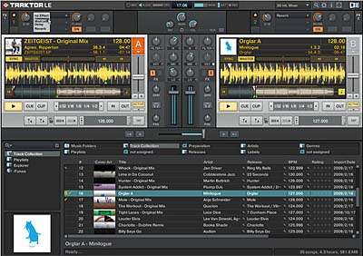 Bundle Software Traktor LE