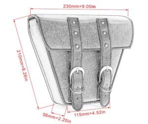 ホンダ レブル ツールバッグのサイズ